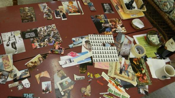 Scrapbook table I