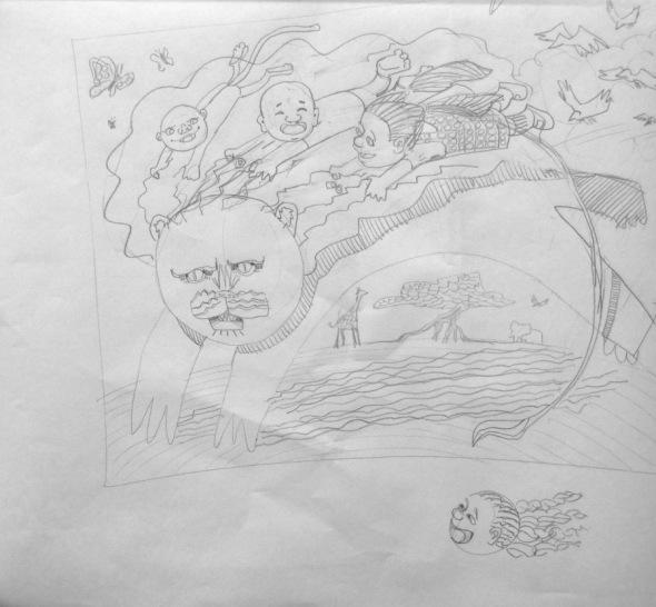 Mane Menagerie - Sketch 2