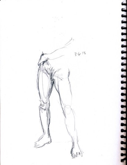 Leg sketch - reduced