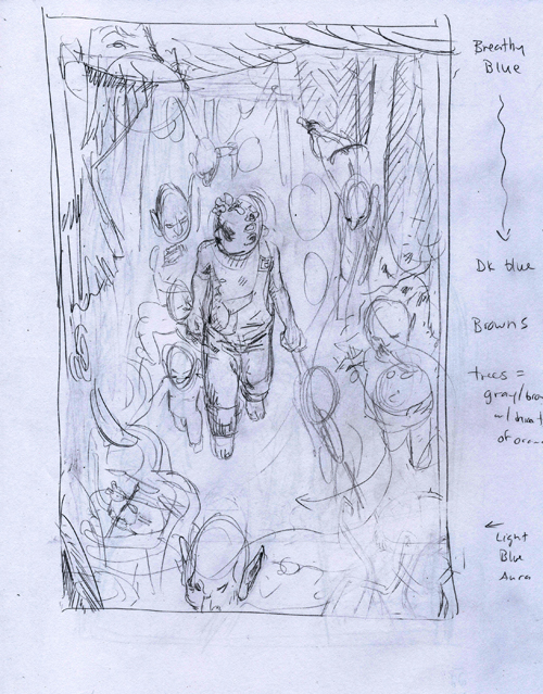 The Stolen Child -sketch II - sm