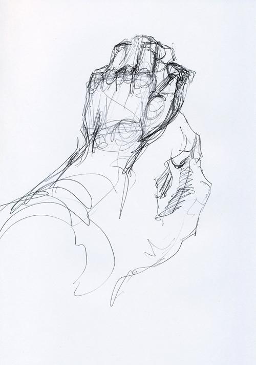 Model - Hands sketch II - sm